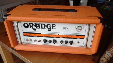 Orange TH30 Guitar amp. All valve amplifier. Fantastic tone!