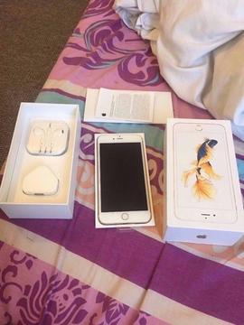 iphone 6s gold 64gb unlocked great condition boxed with all accessories selling as upgraded