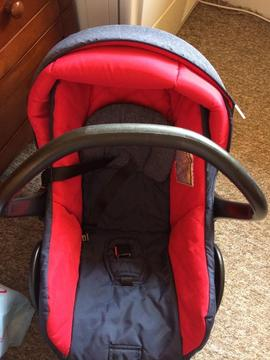 Ladybird infant car seat