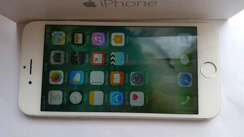 iPhone 6 128GB!!! O2 GiffGaff Tesco FULL SET+NEW WHITE CASE Delivery Available