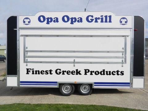 Catering Trailer for sale almost new
