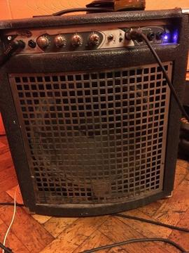 """Bass Amp Combo 15"""" 100w - ideal practice amp"""
