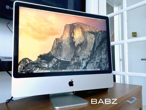 Apple iMac 24 - Intel C2D 3.06Ghz - Logic Pro X - Adobe CS6 - Final Cut X
