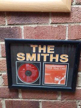 Professionally Framed The Smiths CD