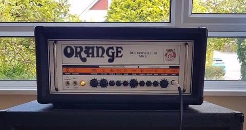 Orange Rockerverb MK II 100 watt Guitar Amp