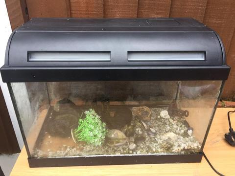 Free tank & stand in very very used condition:)