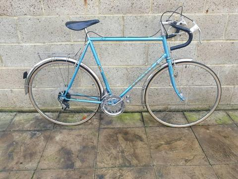 Peugeot sport carbonlite road racer touring bike bicycle
