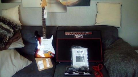 New Guitar and amp package or sell separately
