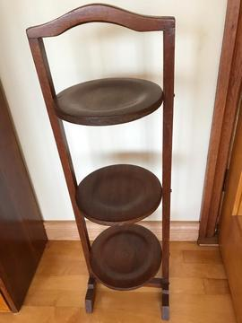 Vintage Wooden cake stand