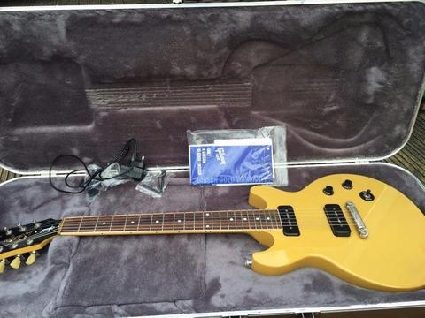 Gibson Les Paul Special Double Cut 2015 TV yellow Mint Condition