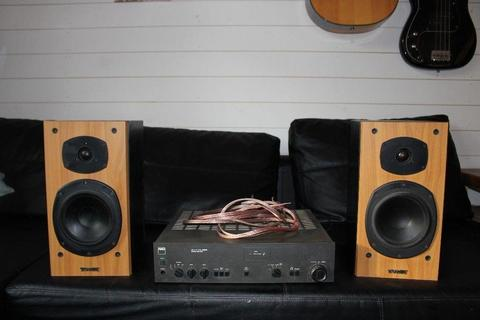 Tannoy Mercury M2's and Nad amp for sale