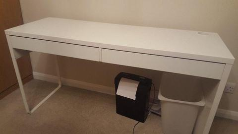Reading desk (Ikea) 143cm long and 50cm wide. Excellent condition