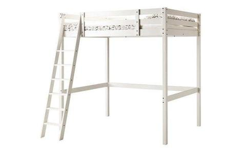 Double Wooden IKEA loft bed bunk bed £150 ONO