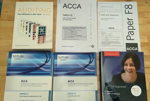 ACCA - F5 Performance Management, F6 Taxation & F8 Audit & Assurance