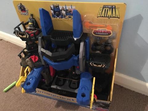 Imaginext brand new robo batcave