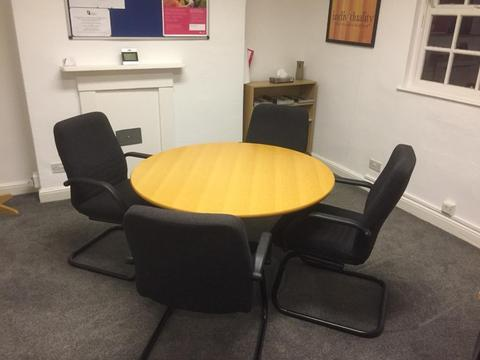Round Meeting Table 1200mm