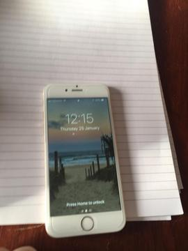 IPhone 6 white 64gb for sale unlocked
