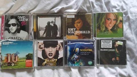 Music CDs x 8
