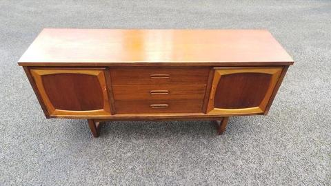 Vintage Teak Sideboard Retro Mid Century Danish Style,Possible Delivery
