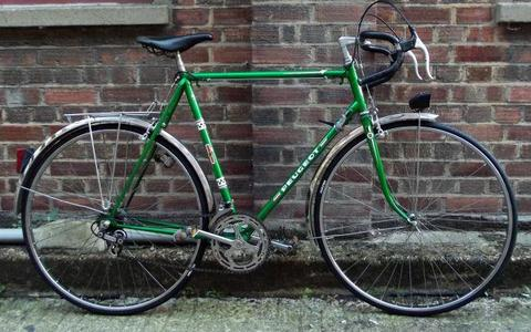 French vintage road bike PEUGEOT frame size 23inch 12 speed, serviced - WARRANTY - NEW TYRES Eroica