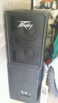Peavey 210 Tvx Bass cab (2 for sale )