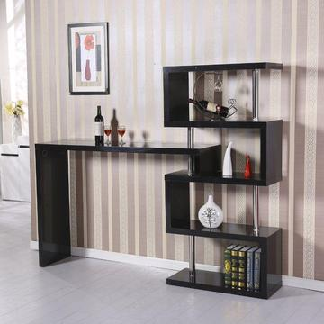 Modern bar table, high gloss, Storage Display, Room divider (almost new)