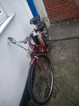 Small vintage bike