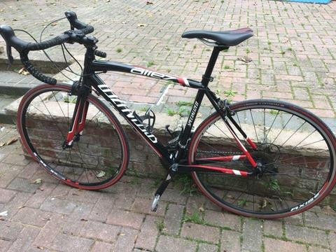 Specialized Allez Double 2015 54cm Road Bike with upgrades and extras