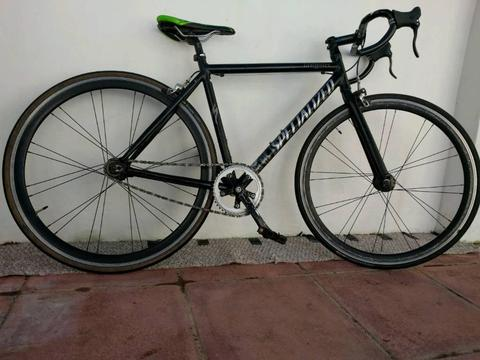 Specialized langster fixie bike carbon bars