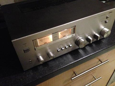 Aiwa 8300 old school amp rare