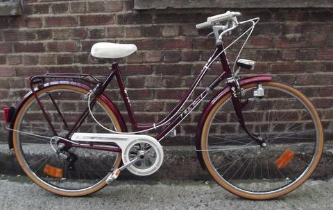 Super cool French vintage BELLE FLEUR dutch bike 5 speed, small size 19in - Welcome for test ride