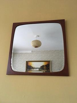 Vintage Danish Wall Mirror