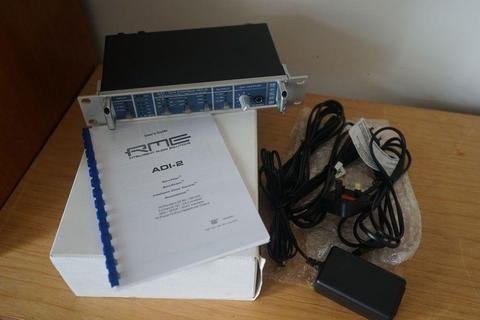RME ADI-2 AD-DA converter