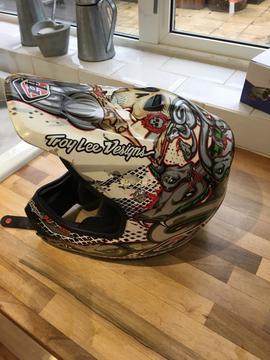 Troy Lee design helmet motocross Mx