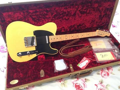 Fender 52 Telecaster American Vintage Reissue Electric Guitar USA Stratocaster 56 58 59 64 65 1952