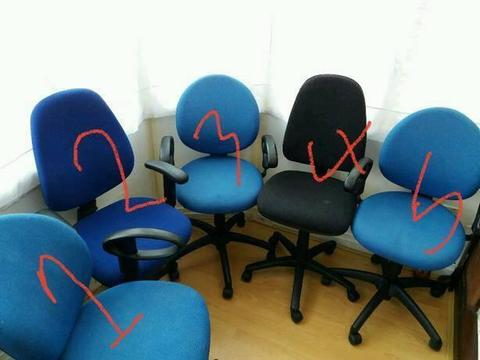 Office Chairs in Different Colours