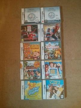 Collection Of DS games