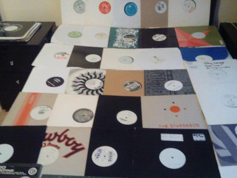 JOBLOT MIX OF 48 RARE UK GARAGE CLASSICS