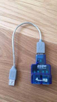 4 way USB port