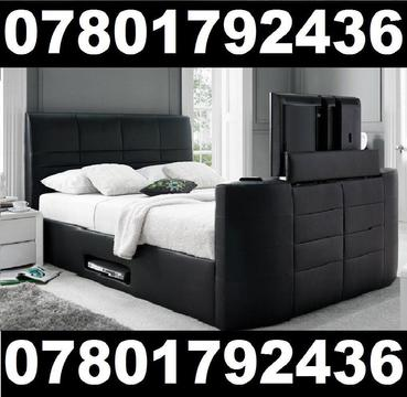 TV BED WITH GAS LIFT STORAGE 814